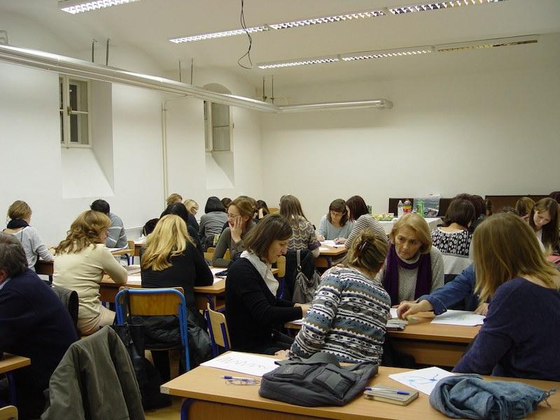 Zupanijsko strucno vijece likovne umjetnosti u V. gimnaziji5