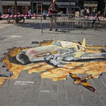 11 ( Netherlands, Almere , 260 Squadron Kittyhawk _ 3d anamorphic picture)